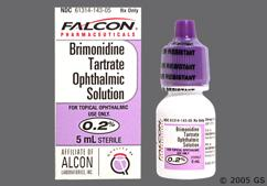 yellow - Brimonidine Tartrate 0.2% Ophthalmic Solution