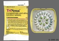 Green Round P And Watson - Trinessa 28-Day Tablet
