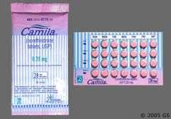 Pink Round Package 715 And B - Camila 28-Day Tablet