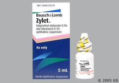 Loteprednol And Tobramycin Coupon - Loteprednol And Tobramycin 5ml of 0.5%/0.3% eye dropper