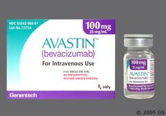 brown - Avastin 100mg/4ml Solution for Injection