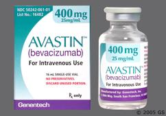 brown - Avastin 400mg/16ml Solution for Injection