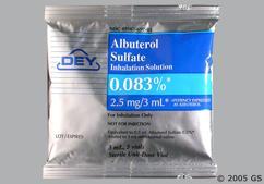 Albuterol Sulfate Overdose