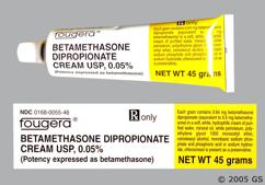 Betamethasone Dipropionate Coupon - Betamethasone Dipropionate 45g of 0.05% tube of cream