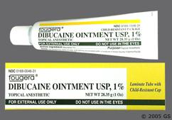 Dibucaine Coupon - Dibucaine 1 oz of 1% tube of ointment