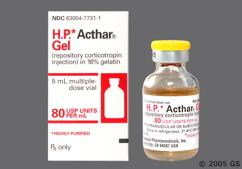 yellow - H.P. Acthar Gel 80unit/ml Repository Injection
