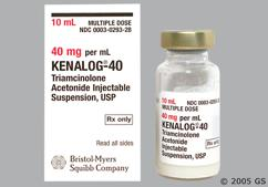 white - Kenalog-40 40mg/ml Suspension for Injection