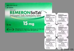 White Round Orally Disintegrating Tab Tz 1 - Remeron Soltab 15mg Orally Disintegrating Tablet