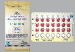 Desogen Coupon - Desogen 28 tablets of 0.15mg/0.03mg package