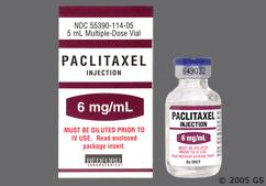 Taxol Coupon - Taxol 50ml of 6mg/ml vial