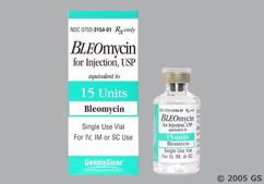 Bleomycin Coupon - Bleomycin 15 units vial
