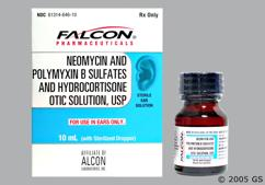 colorless - Neomycin Sulfate/Polymyxin B Sulfate/Hydrocortisone Otic Solution