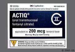 White Bullet Lozenge Actiq 200 And 200Mcg - Actiq 200mcg Lozenge