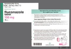 Pink Oval Tablet Flz 150 - Fluconazole 150mg Tablet