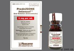 colorless - Prednisone Intensol 5mg/ml Solution