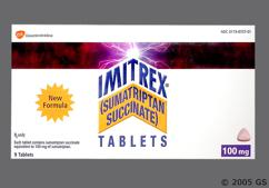 Imitrex Coupon - Imitrex 9 tablets of 100mg dose pack