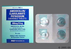 Pink Round Chewable Tablet Pl C40 - Amoxicillin/Clavulanate Potassium 400mg-57mg Chewable Tablet