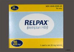 Orange Round Tablet Pfizer And Rep 20 - Relpax 20mg Tablet