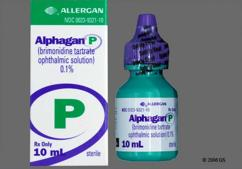 green-yellow - Alphagan P 0.1% Ophthalmic Solution