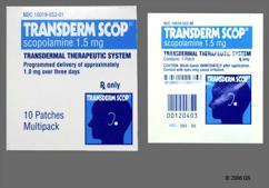 Scopolamine Coupon - Scopolamine 1.5mg patch