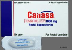 Canasa Coupon - Canasa 1000mg suppository