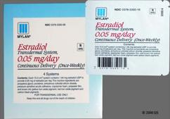 Climara Coupon - Climara 4 once-weekly patches of 0.025mg/day carton