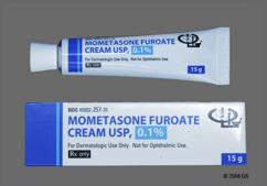 white - Mometasone Furoate 0.1% Topical Cream
