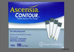 Bayer Contour Coupon - Bayer Contour test strip