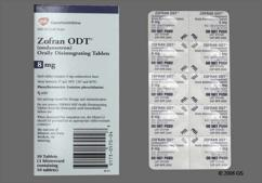 White Round Orally Disintegrating Tab Z8 - Zofran ODT 8mg Orally Disintegrating Tablet