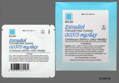 peach round carton - Estradiol 0.0375mg/24hr Transdermal System