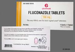 Pink Oval 150 - Fluconazole 150mg Tablet