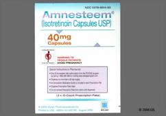 Orange-Brown I40 - Amnesteem 40mg Capsule