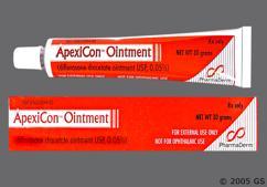 Apexicon Coupon - Apexicon 30g of 0.05% tube of ointment