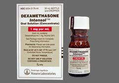 Dexamethasone Intensol Coupon - Dexamethasone Intensol 30ml of 1mg/ml dropper