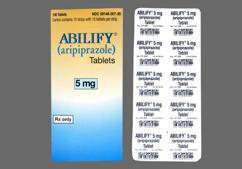 Blue Modified Rectangle Tablet A-007 5 - Abilify 5mg Tablet