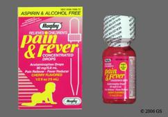 red - Pain and Fever 80mg/0.8ml Drops