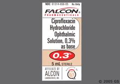 Ciprofloxacin Coupon - Ciprofloxacin 5ml of 0.3% eye dropper