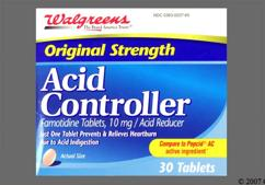 Pink Round 93 And 968 - Walgreens Acid Controller 10mg Tablet