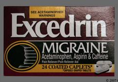 Excedrin Migraine Coupon - Excedrin Migraine 250mg/250mg/65mg tablet