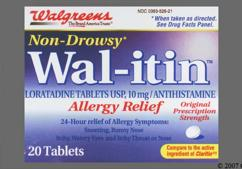 White Round Tablet Rx 526 - Wal-itin Allergy Relief Tablet
