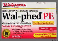 Phenylephrine PE Coupon - Phenylephrine PE 10mg tablet