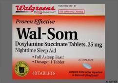 Doxylamine Coupon - Doxylamine 25mg tablet