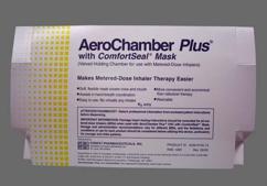 Aerochamber Plus W/Mask Coupon - Aerochamber Plus W/Mask medium spacer