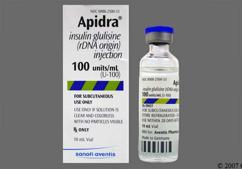 Apidra Coupon - Apidra 10ml of 100 units/ml vial