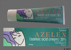 white - Azelex 20% Topical Cream