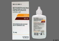 Betamethasone Dipropionate Coupon - Betamethasone Dipropionate 60ml of 0.05% bottle of lotion