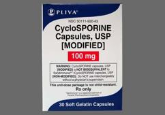 White Capsule Sl 20 And Pa20 - Cyclosporine (modified) 100mg Capsule