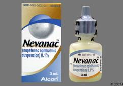 yellow - Nevanac 0.1% Ophthalmic Suspension