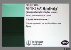 Green Ti 01 Logo - Spiriva HandiHaler 18mcg Powder for Inhalation