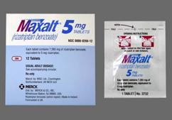 Pink Oblong Tablet 266 And Mrk - Maxalt 5mg Tablet